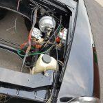 bremkskraftverstärker und motorraum vorne